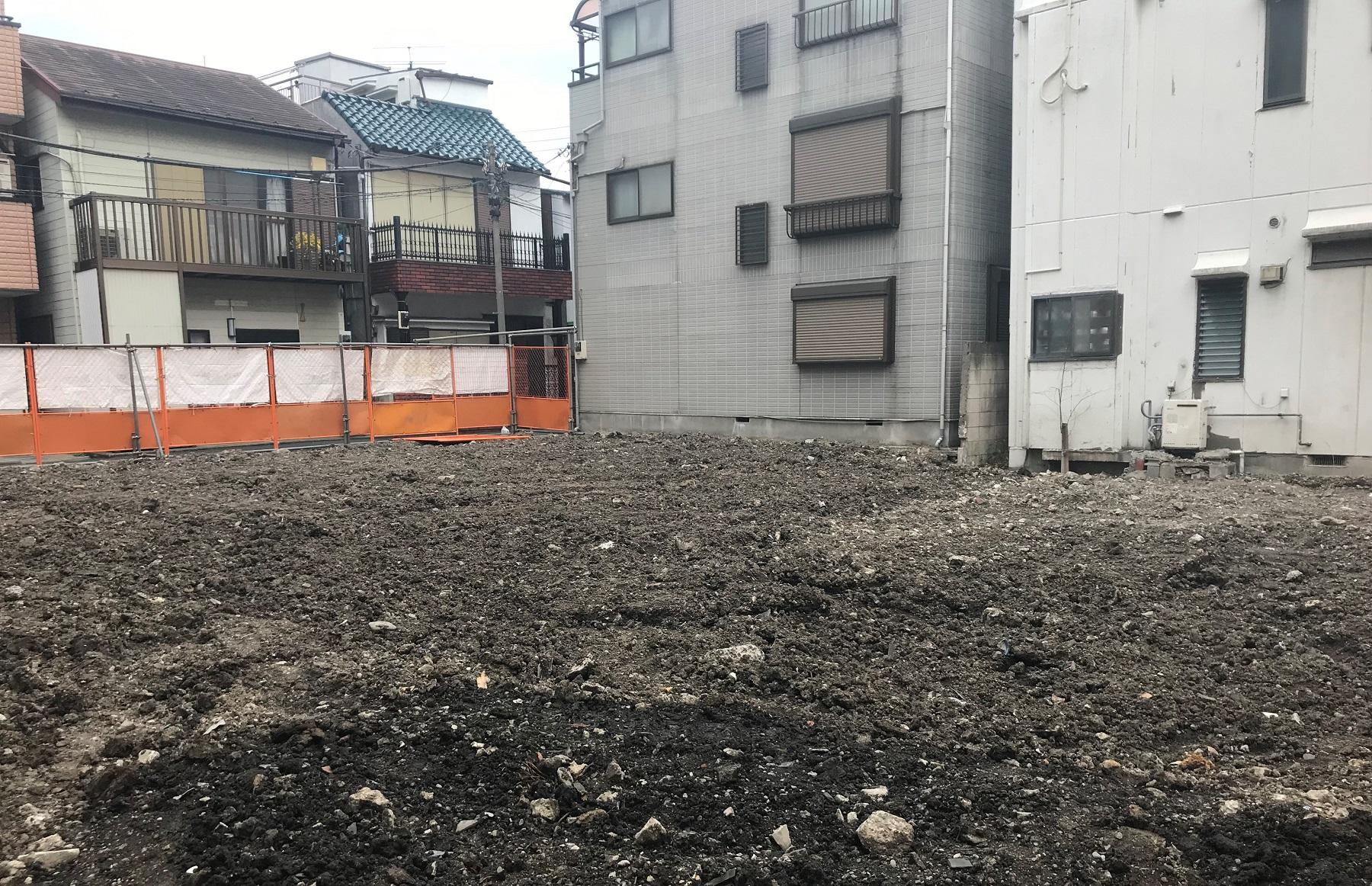 文京区千駄木2丁目売地