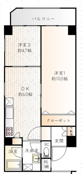 ハイネス国分寺ルミエール 203号室